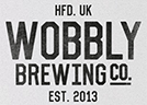 Hereford Times: Wobbly Brewing Co logo