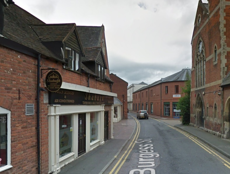 Balti Shabagh in Burgess Street, Leominster. Image from Google Maps
