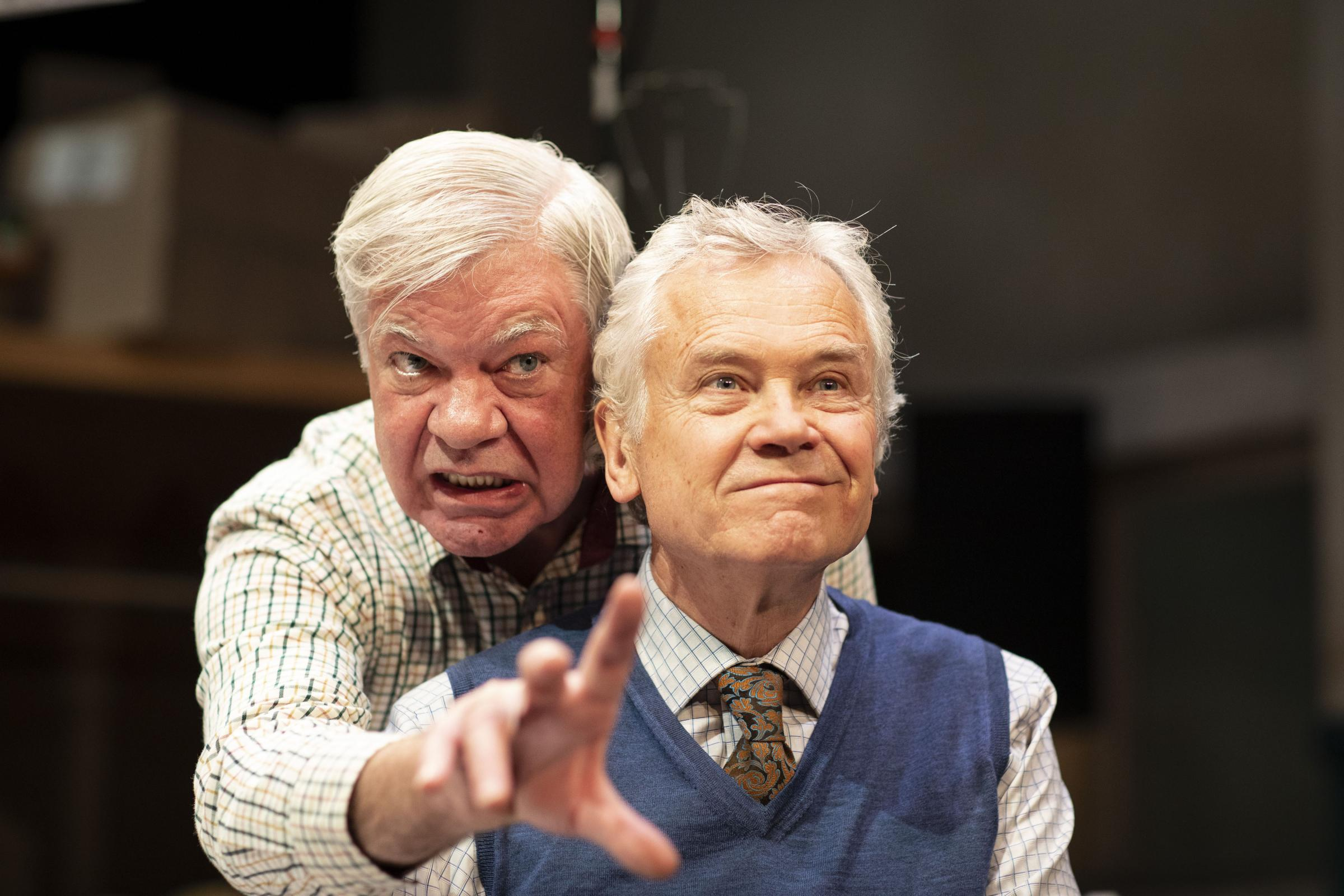 Matthew Kelly and David Yelland in The Habit of Art