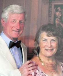 Shirley and Michael Symonds