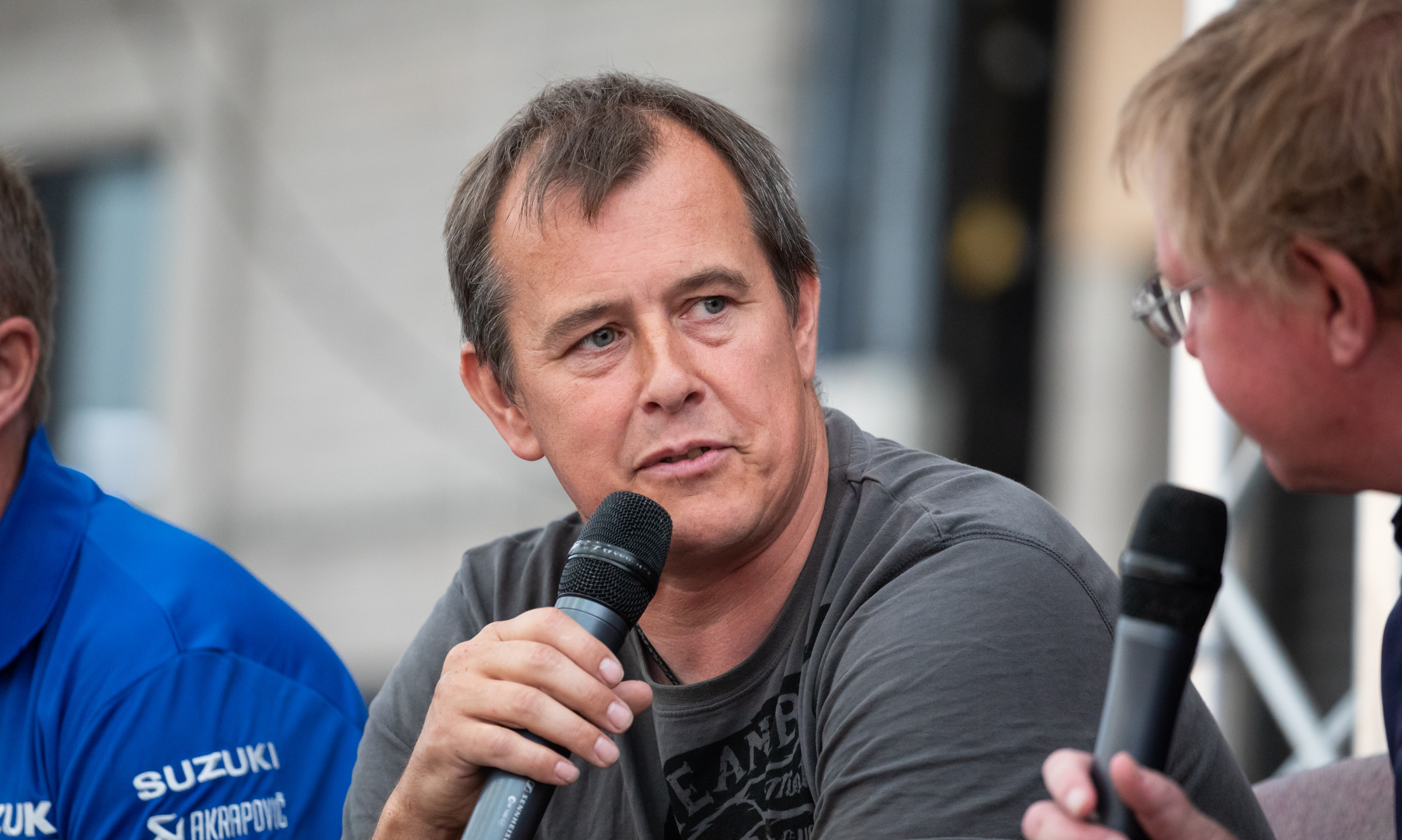 Motorcycle racer John McGuinness is coming to Hereford