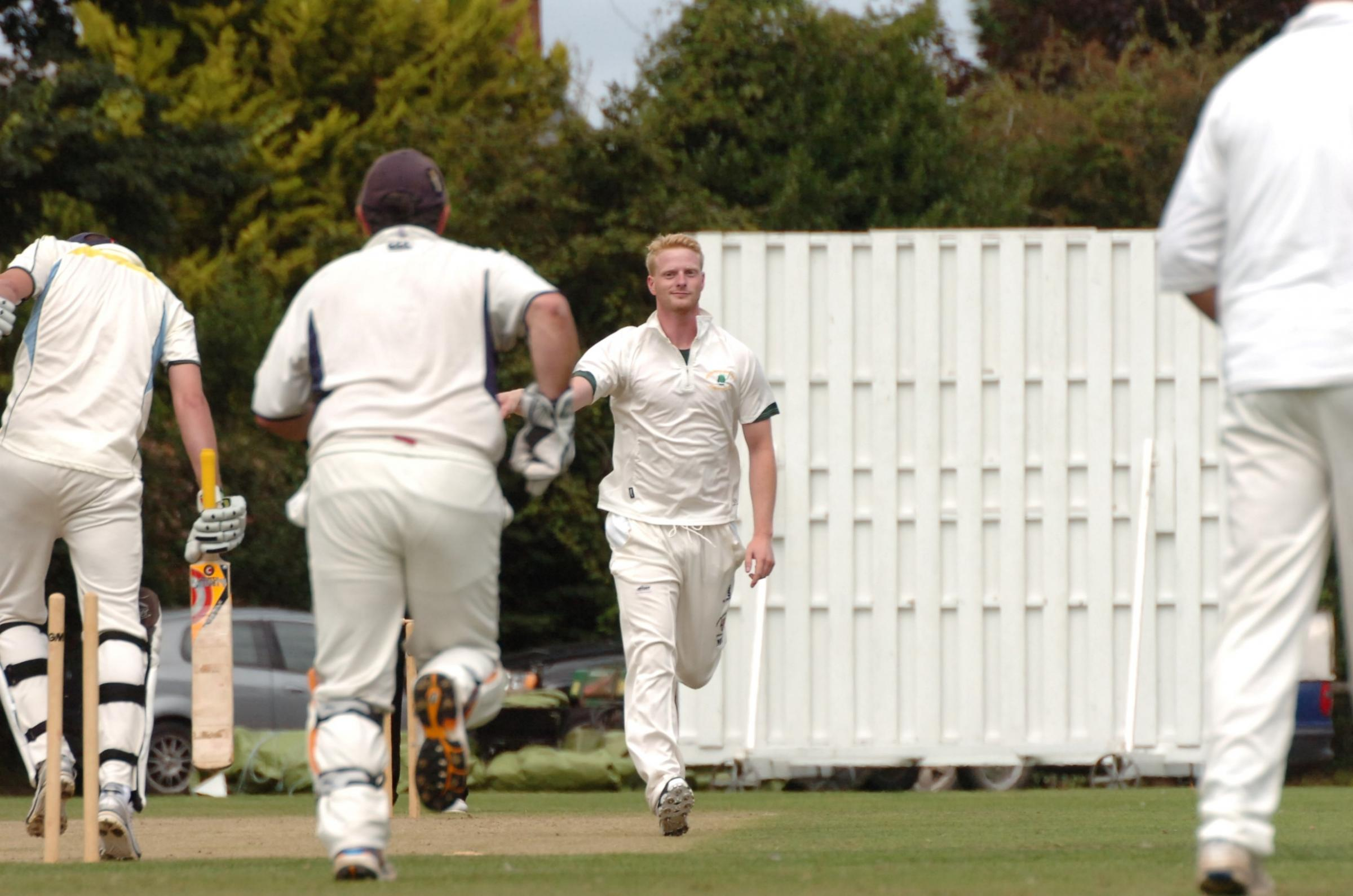 Marcus Ashcroft took six wickets for Bartestree & Lugwardine against Herefordshire rivals Wormelow
