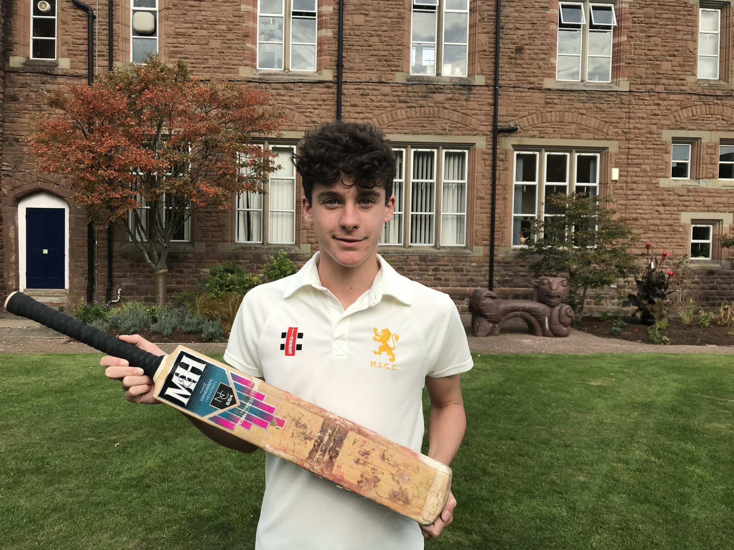 Harry Friend who has been selected for selection for Glamorgan's Academy