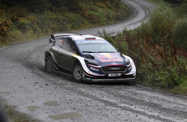 Wales Rally GB Winner Sebastian Ogier. Picture: Paul Willetts