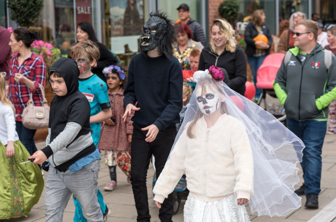 Plans are afoot for Halloween in Hereford City Centre