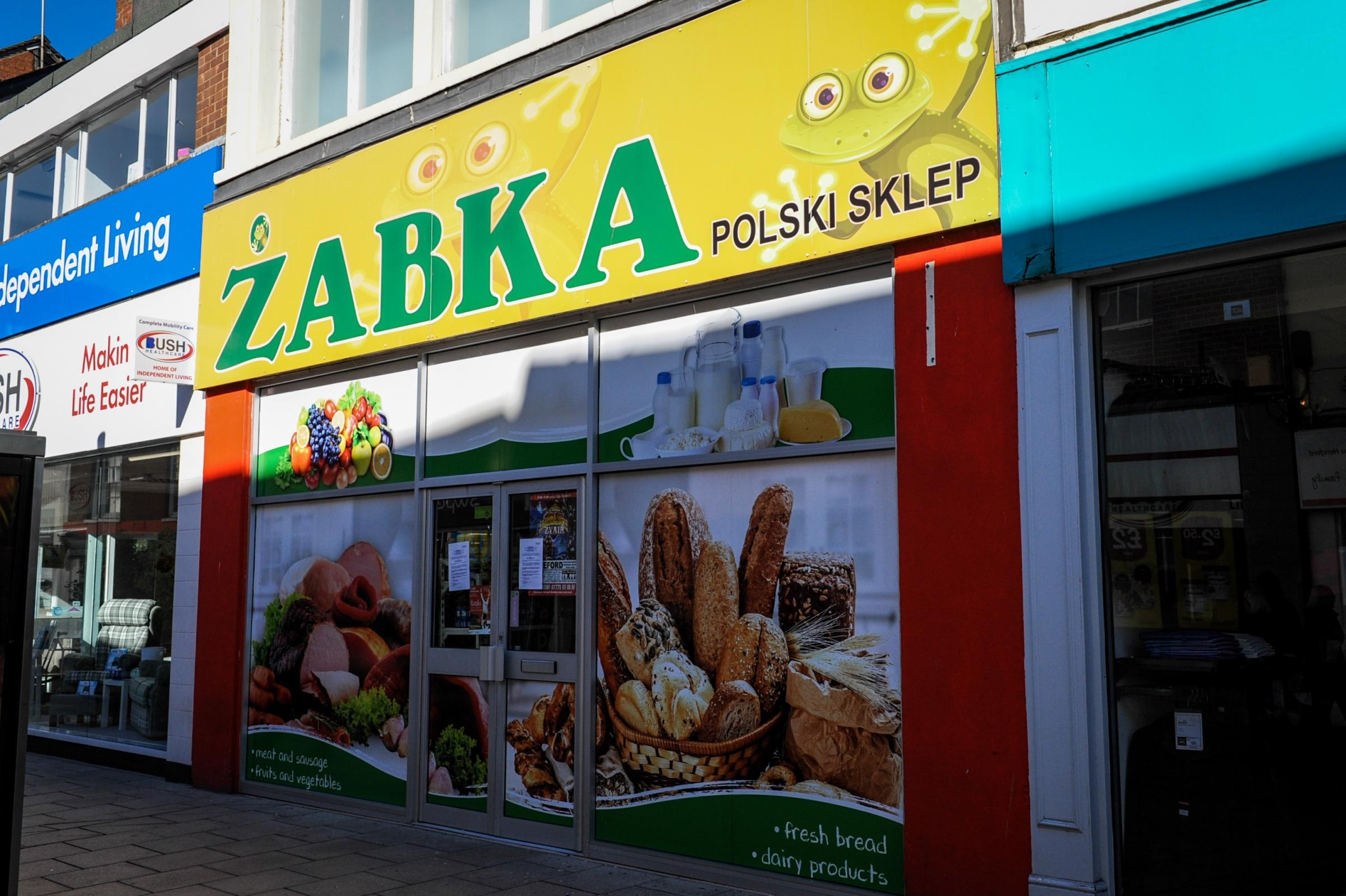 Zabka Polski Sklep on Eign Gate, Hereford, has been closed for three months after illegal cigarettes were sold from the premises.