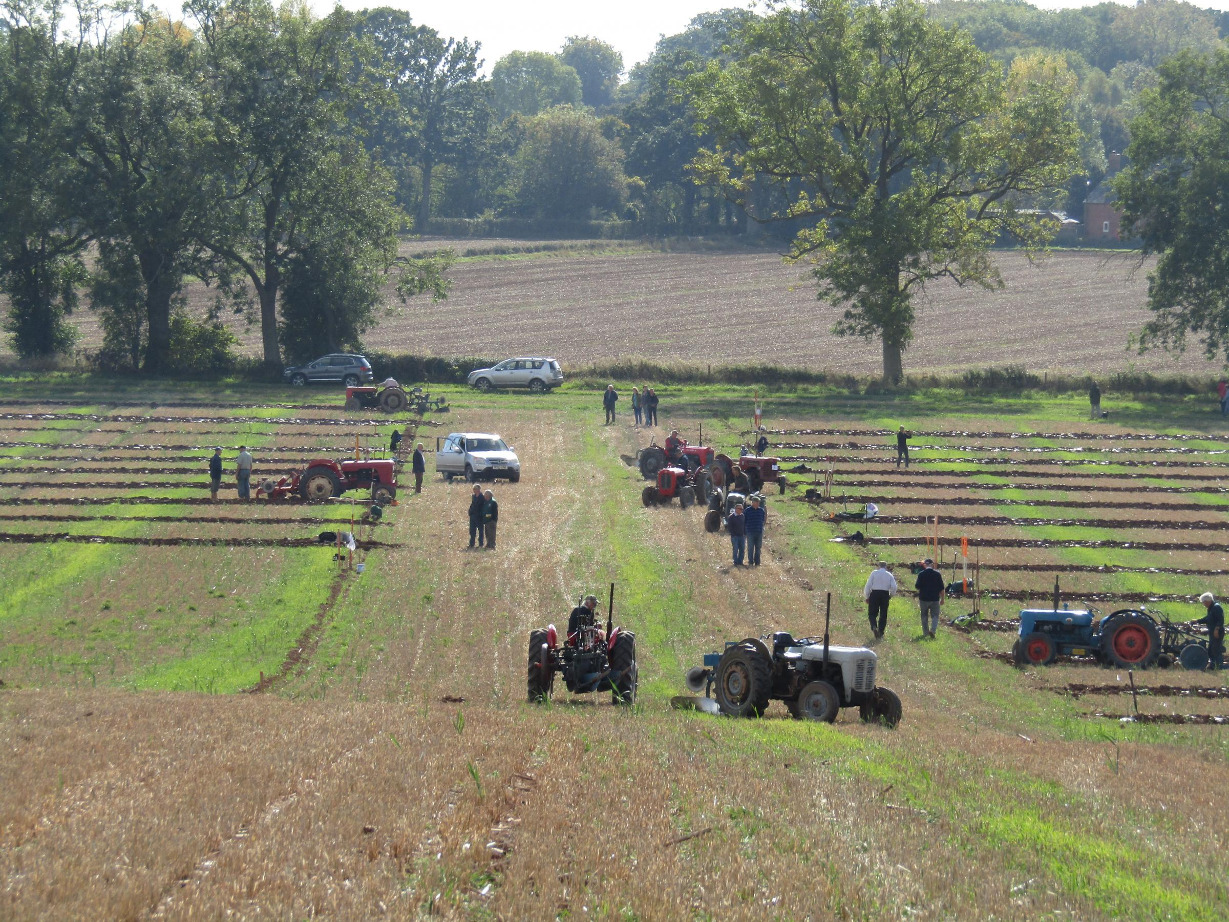 The 2018 Trumpet Ploughing Society annual Ploughing Match at Shilo