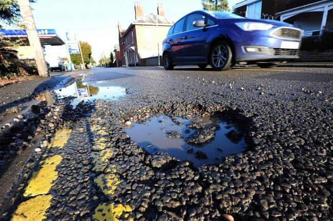 Council awarded £6 million to fix Worcestershire's potholes this winter