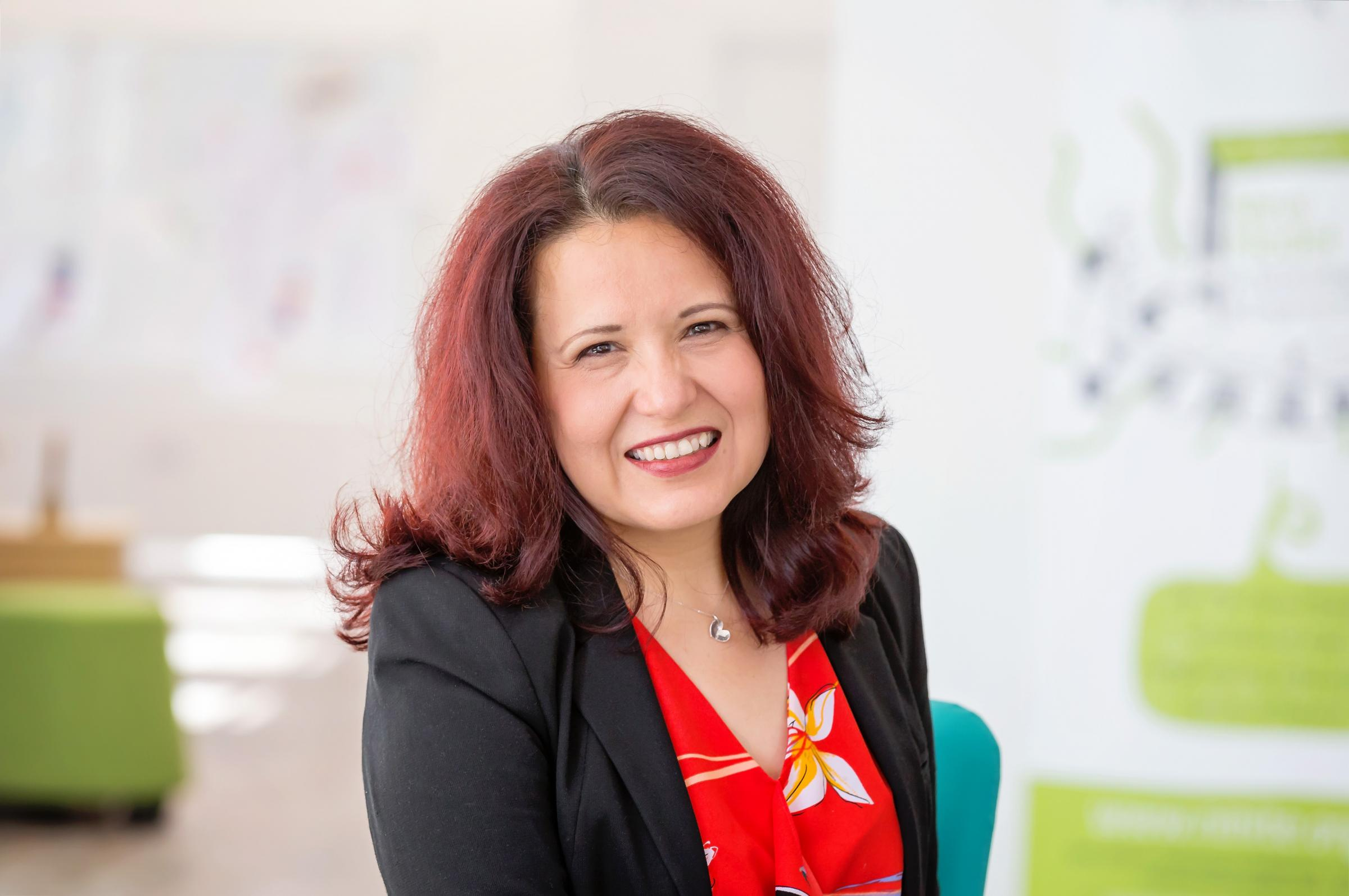 Professor Elena Rodriguez-Falcon has been announced as CEO of upcoming university NMiTE Photo: Gabriella Karney.