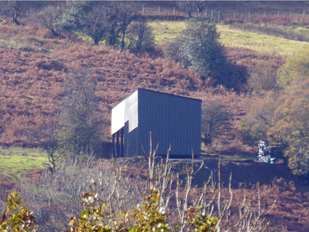 Proposed lambing shed in Craswall