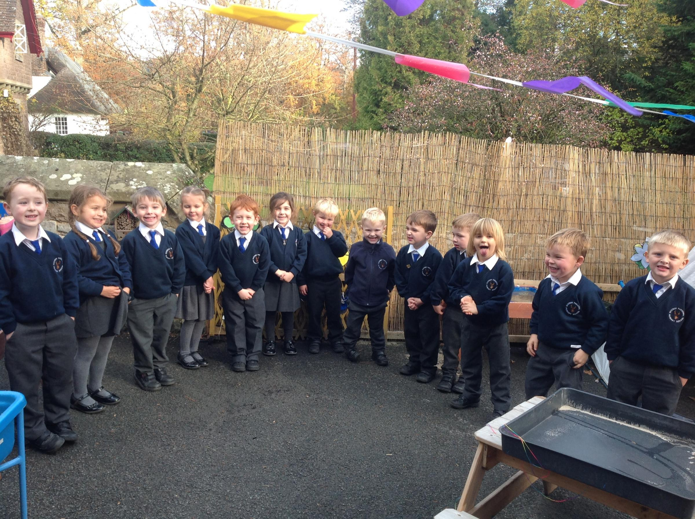 The Reception Class at Eastnor Primary School