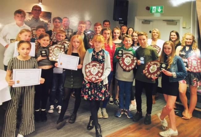 Hereford and County Athletics Clud award winners