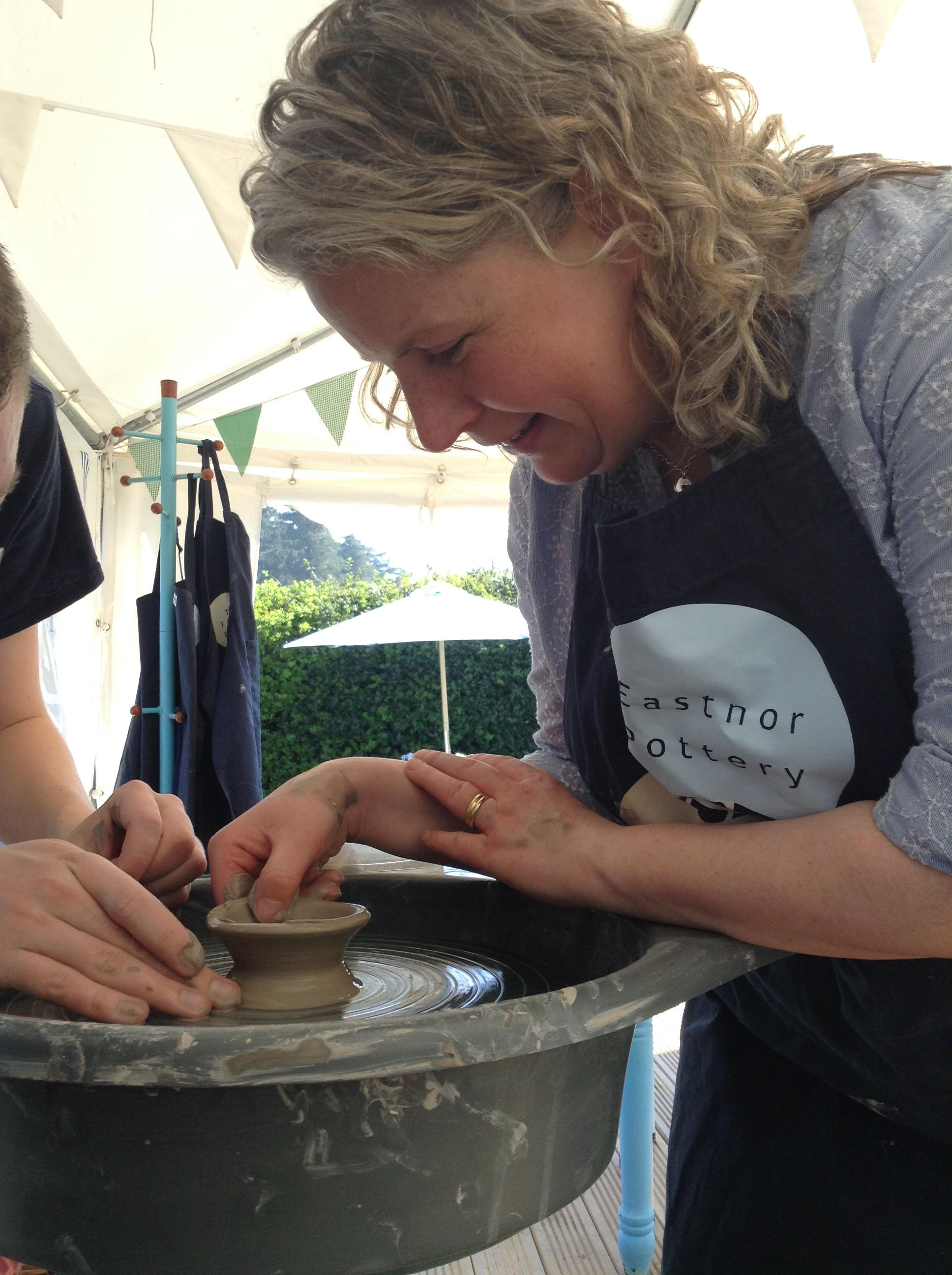 Potter's wheel one day course - Sat 14 Sept