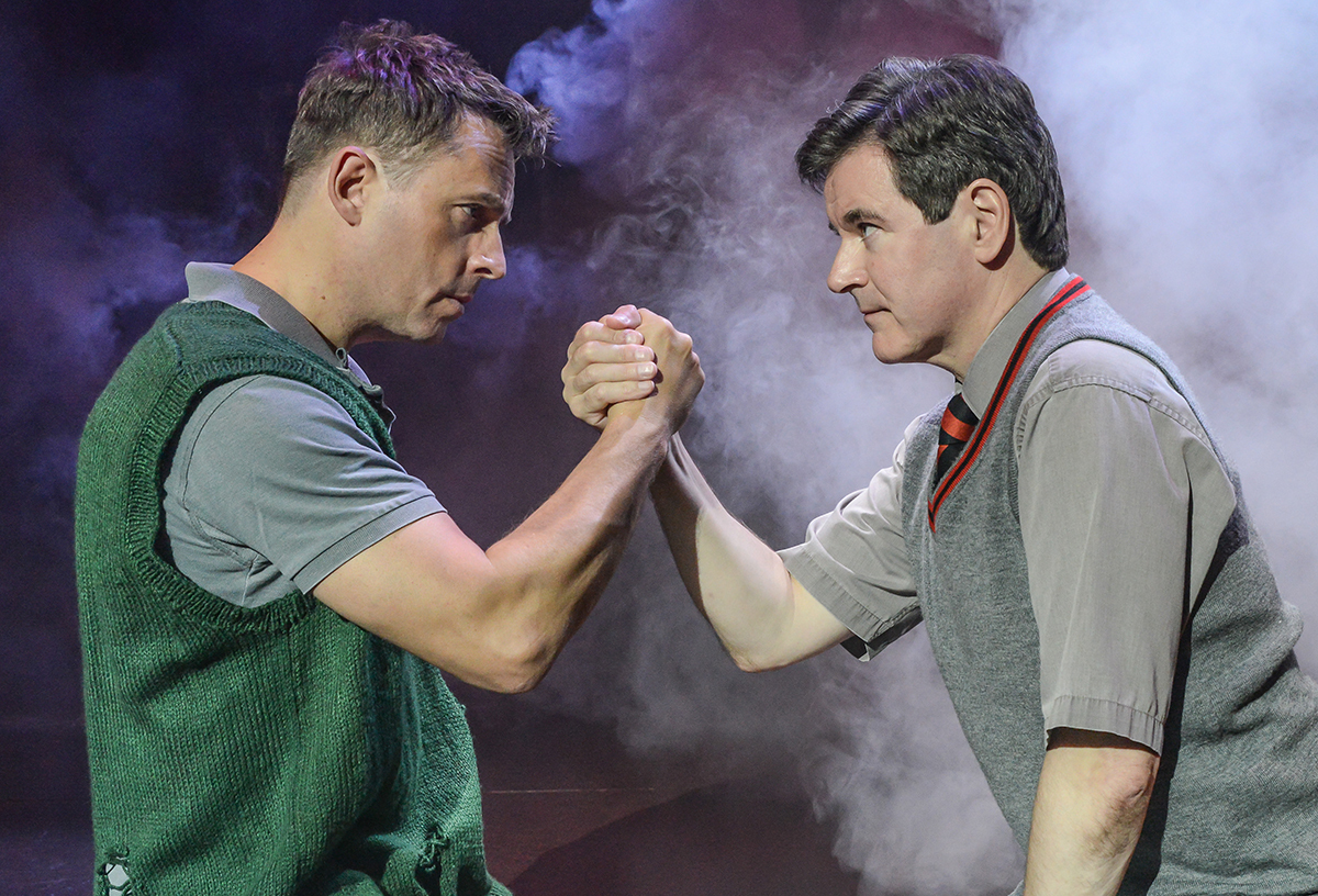 A previous production of Blood Brothers