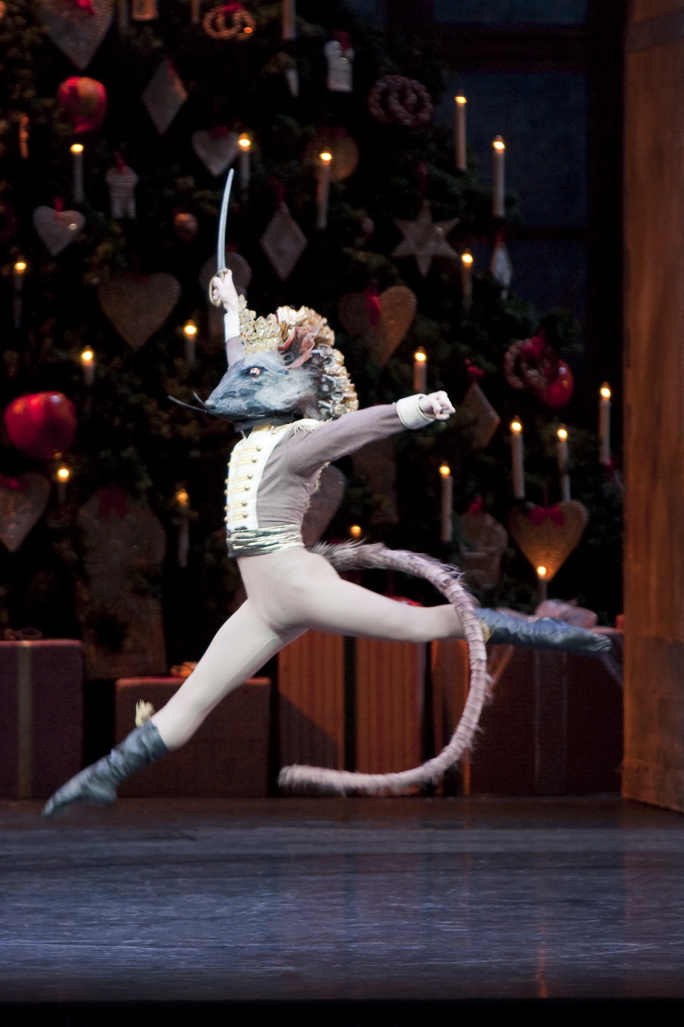 The Mouse King in The Nutcracker. Picture Johan Persson