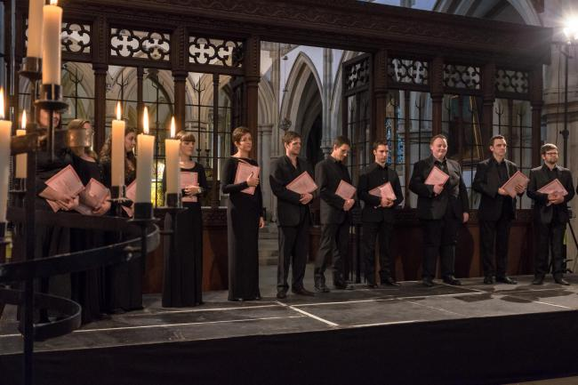 Armonico Consort by candlelight. Picture by Chris Hall
