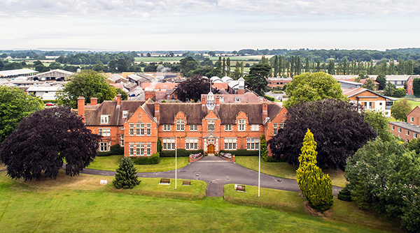 Hereford Times: Harper Adams University - The main building