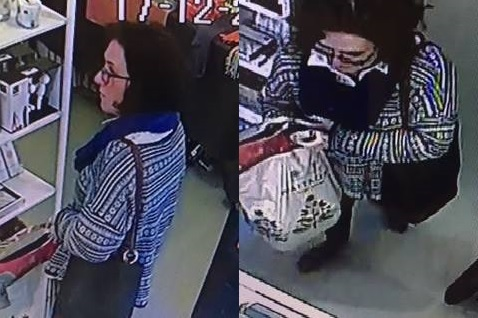 The woman police would like to speak to following theft at Printer and Tailor