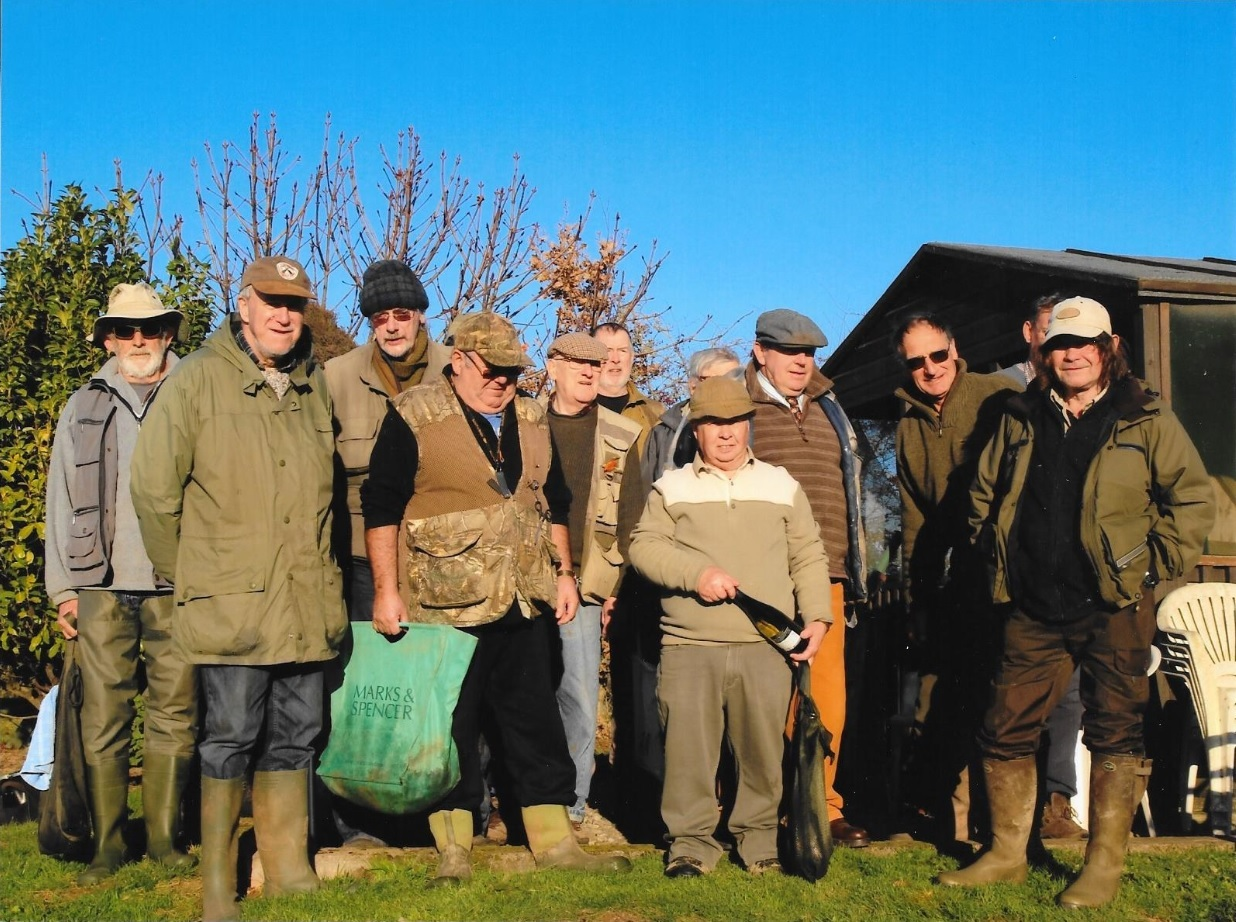 Hereford Fly Fishing Club members