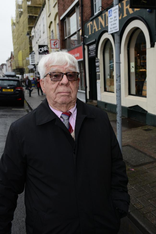John Brown waited more than four months to hear that he had lost his parking appeal.