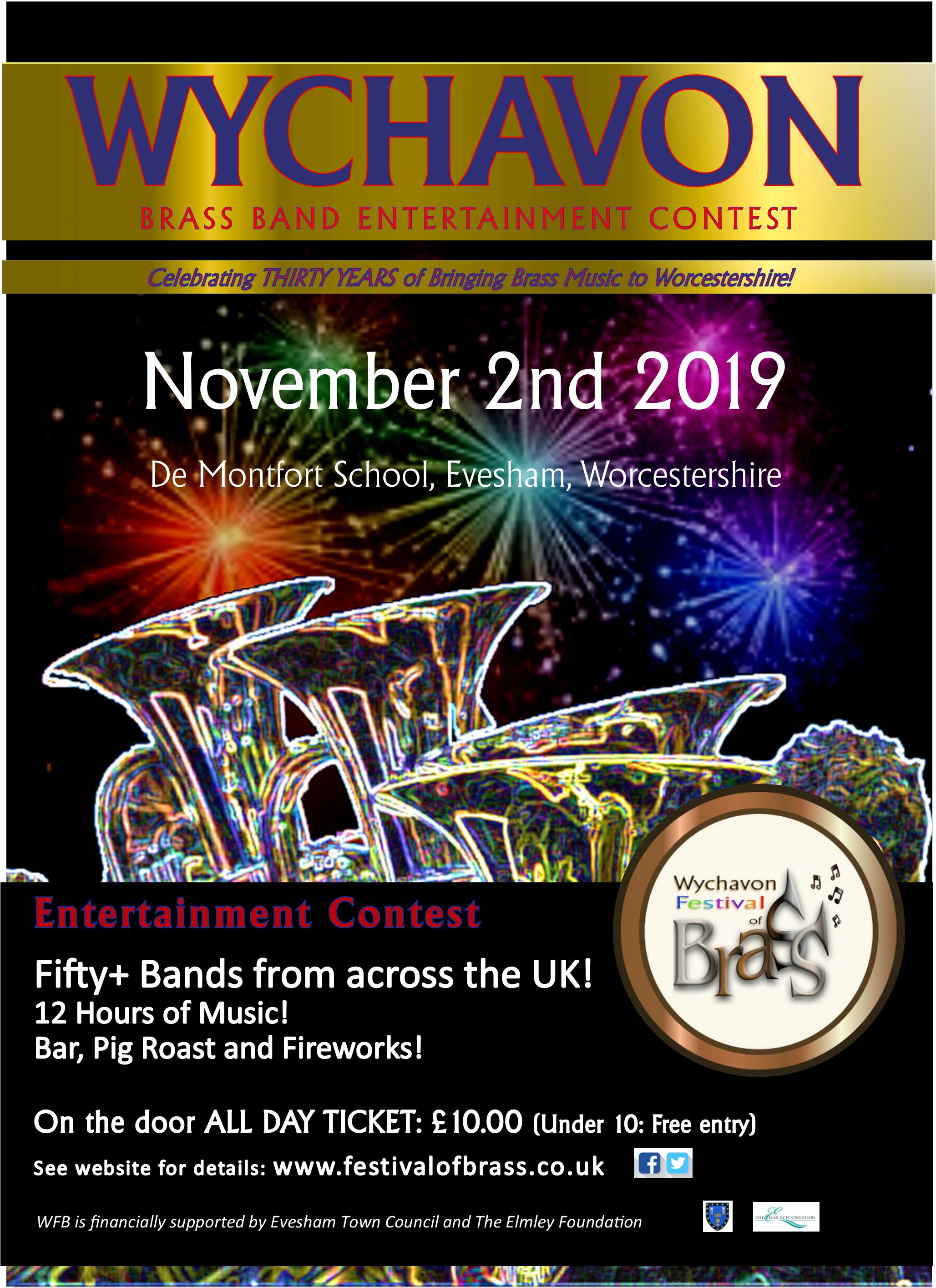 Wychavon Festival of Brass Entertainment Contest