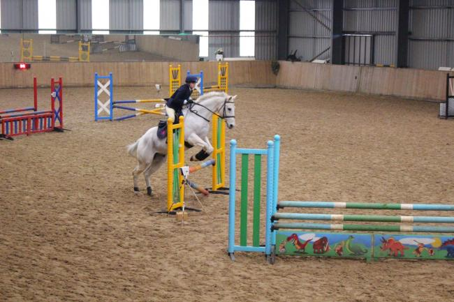 Llangarron's Evie Lawson qualified for the National Schools Equestrian Association (NESA) finals in the 70cms team event