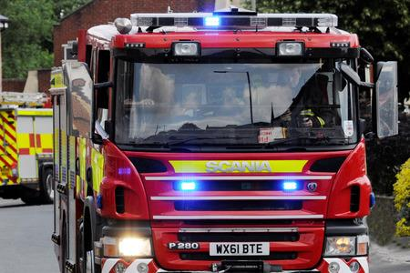 Fire crews were called to Marden overnight
