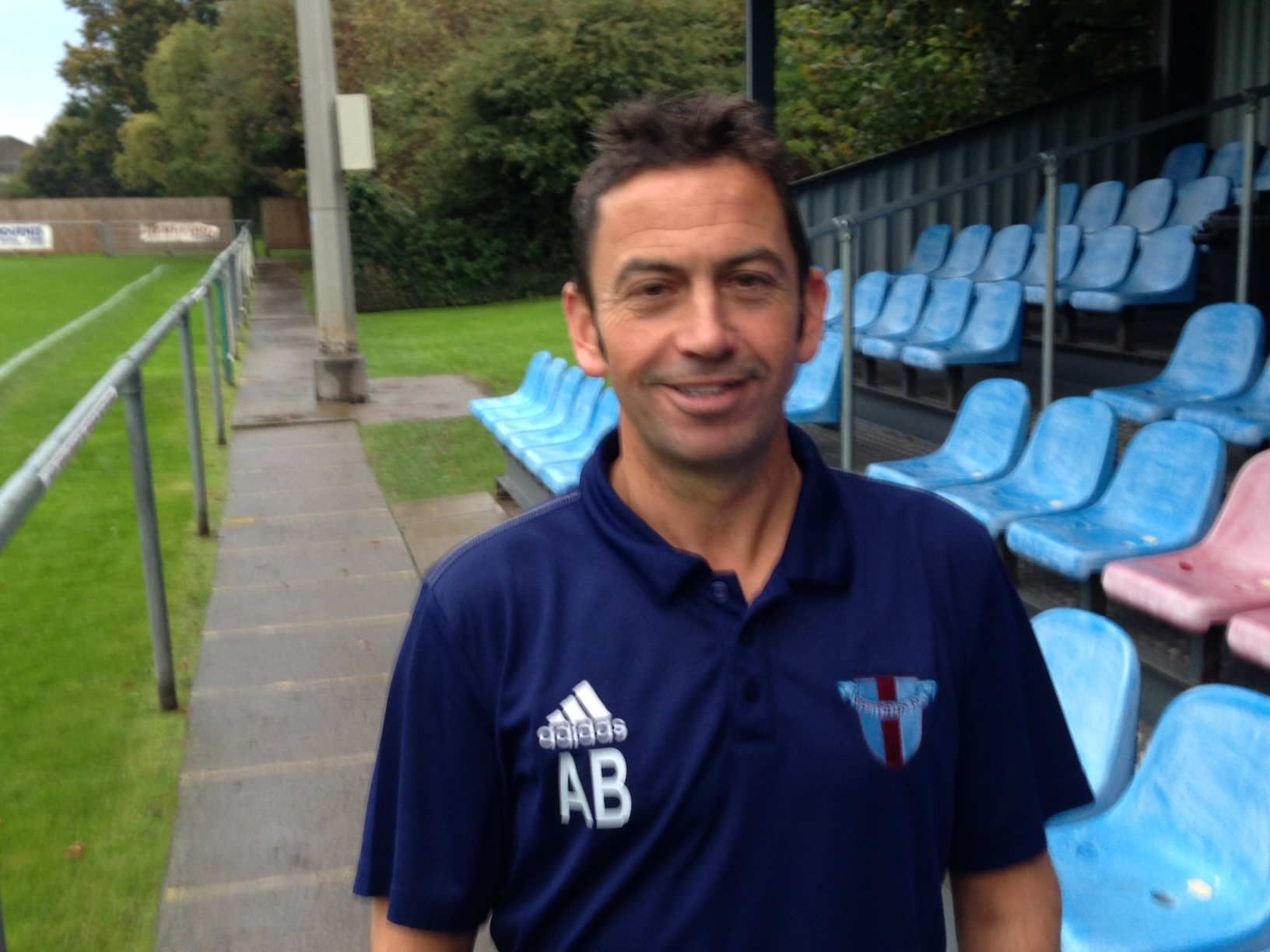 Westfields manager Andy Bevan hopes to lead his team to the HFA County Cup final