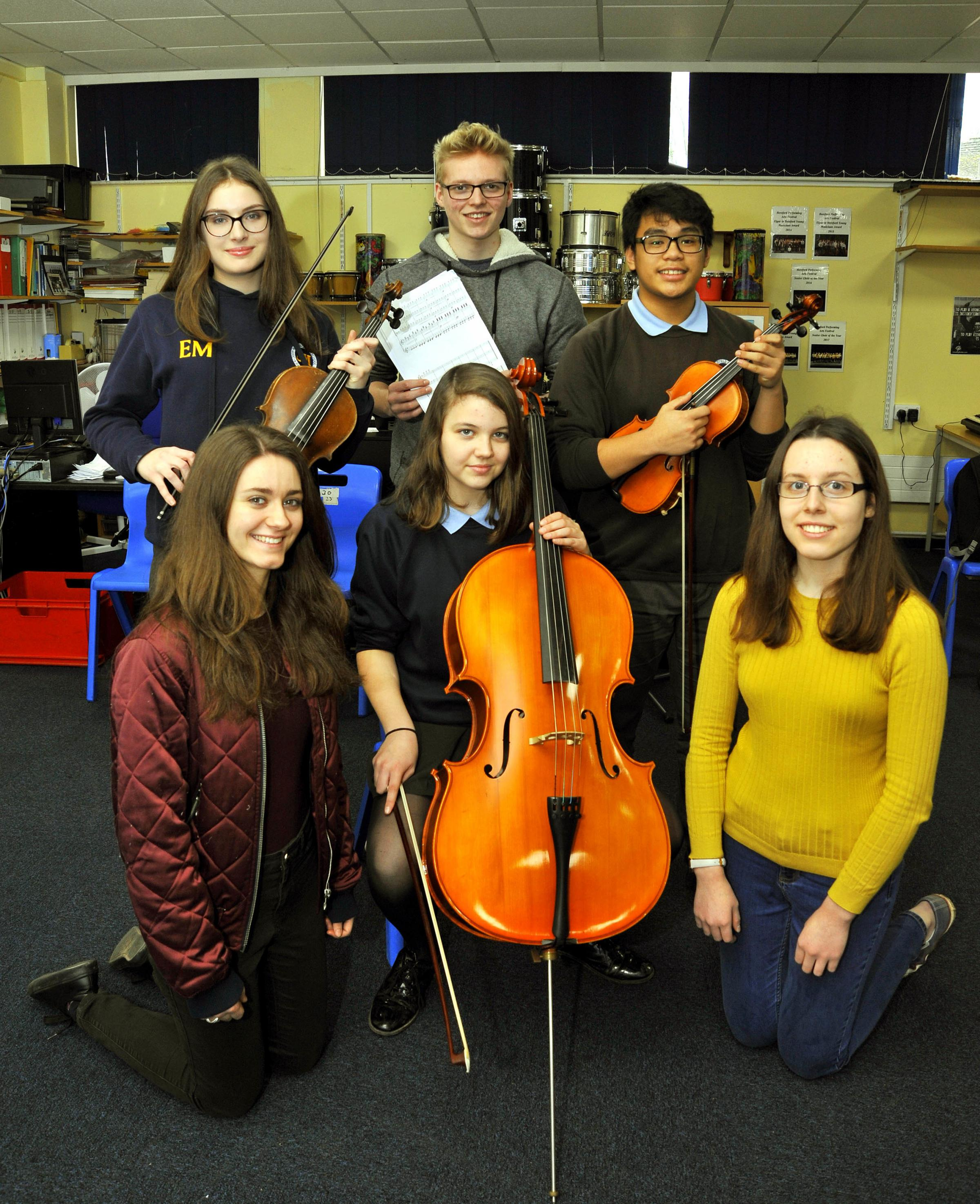 MASTERCLASS: John Masefield High School musicians will play with pianist William Howard.