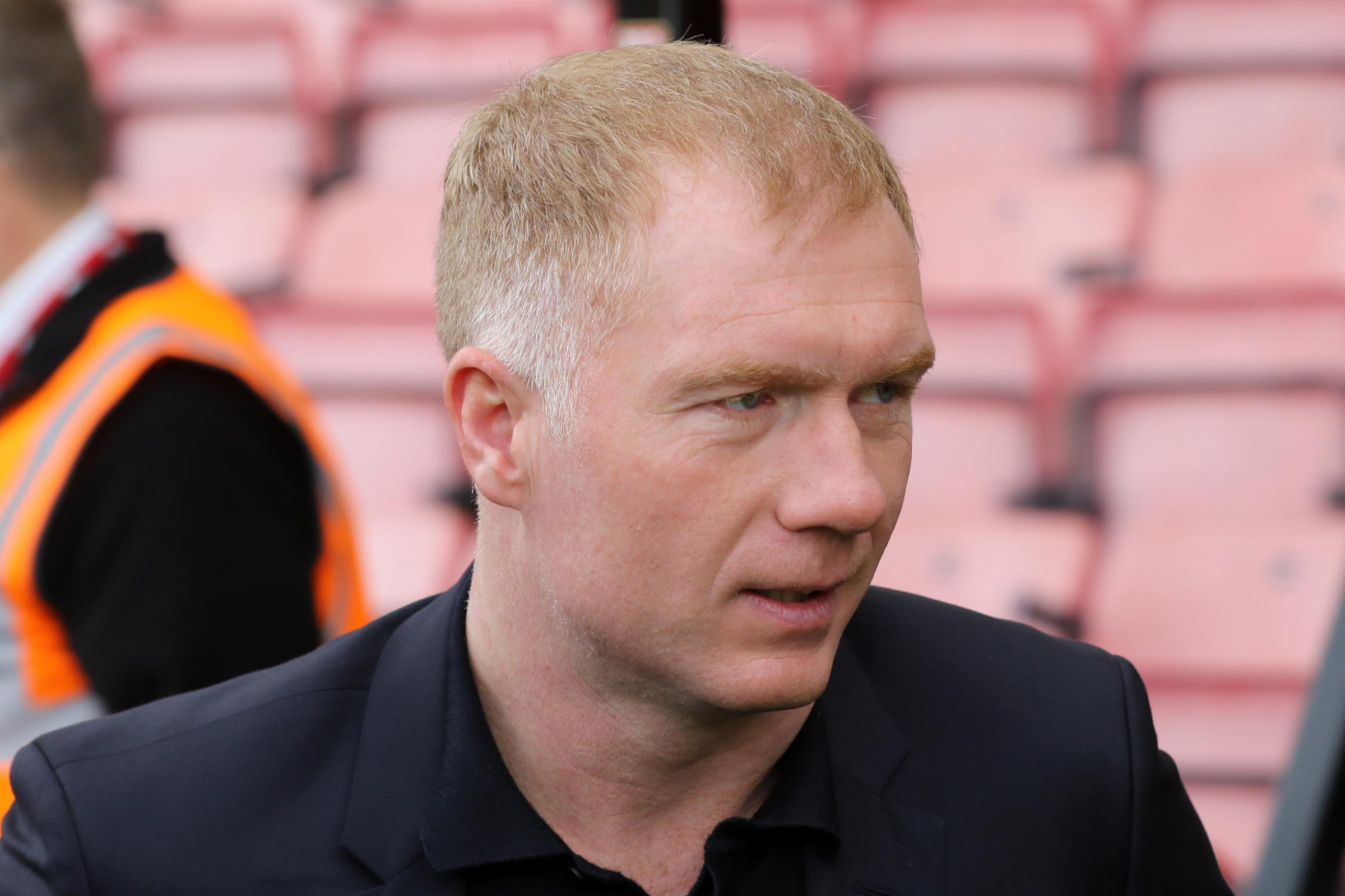 Paul Scholes is the new manager of Oldham