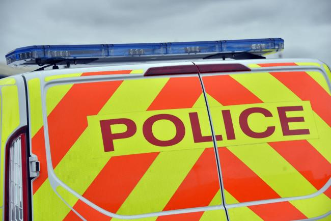 Five men have been arrested after six incidents of disorder in Hereford on Wednesday evening.