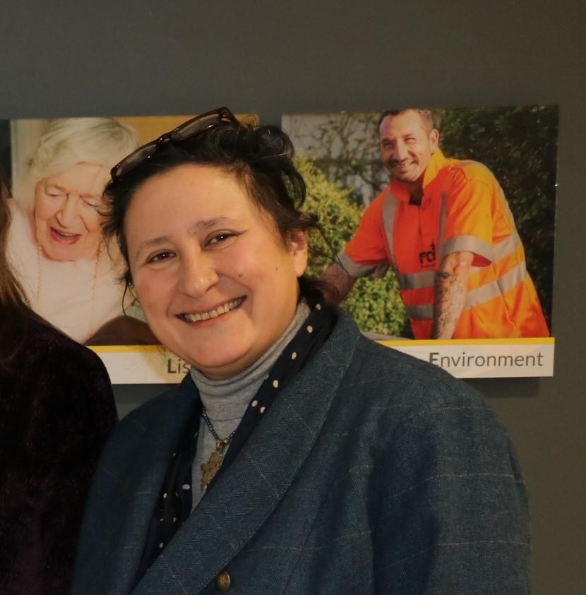 Children and families cabinet member Elissa Swinglehurst.