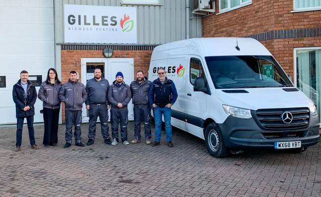 The Hereford team at the Austrian company Gilles Energie are pleased to hear the company is looking at post-Brexit Britain with confidence.