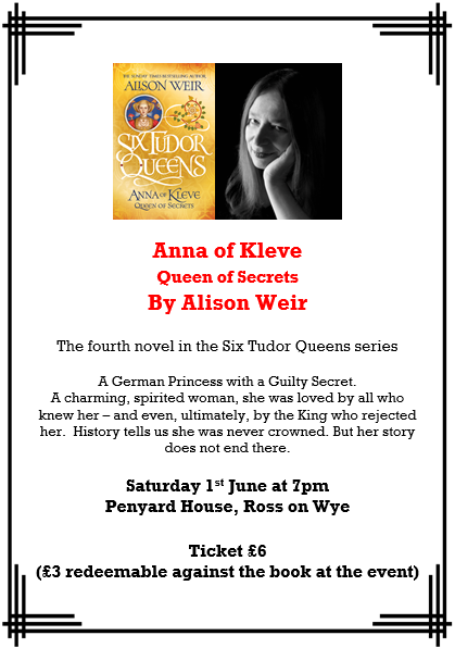Anna of Kleve by Alison Weir