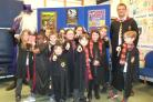 World Book Day at St Mary's C of E Primary School, Fownhope