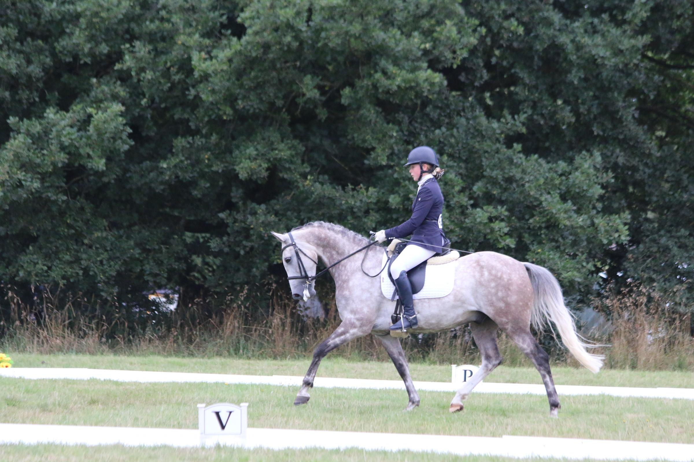 Dressage rider Emma Chinn, who lives near Ross-on-Wye, has qualified for a national dressage finals in Buckinghamshire