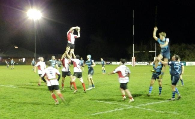 Hereford battled to a 29-10 victory over Malvern