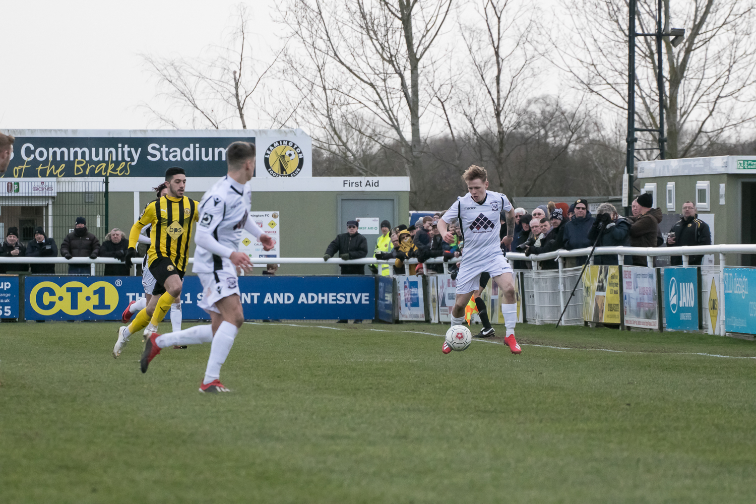 James Waite could return to the Hereford side against Guiseley. Picture: Andy Walkden