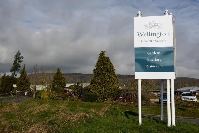 Wellington Homes & Gardens, situated on the former Wyevale site at Wellington, Herefordshire.