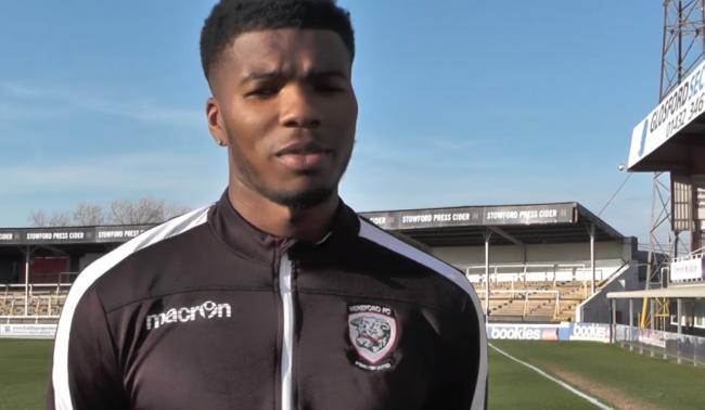 Rowan Liburd. Picture: Hereford FC