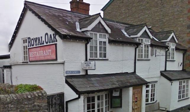 The Royal Oak in Presteigne.