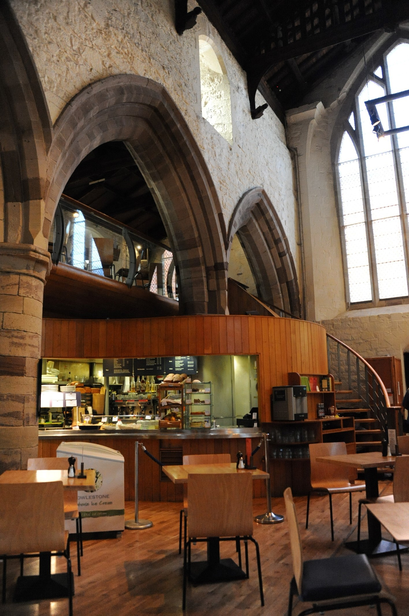 The money was stolen from Café @ All Saints in Hereford