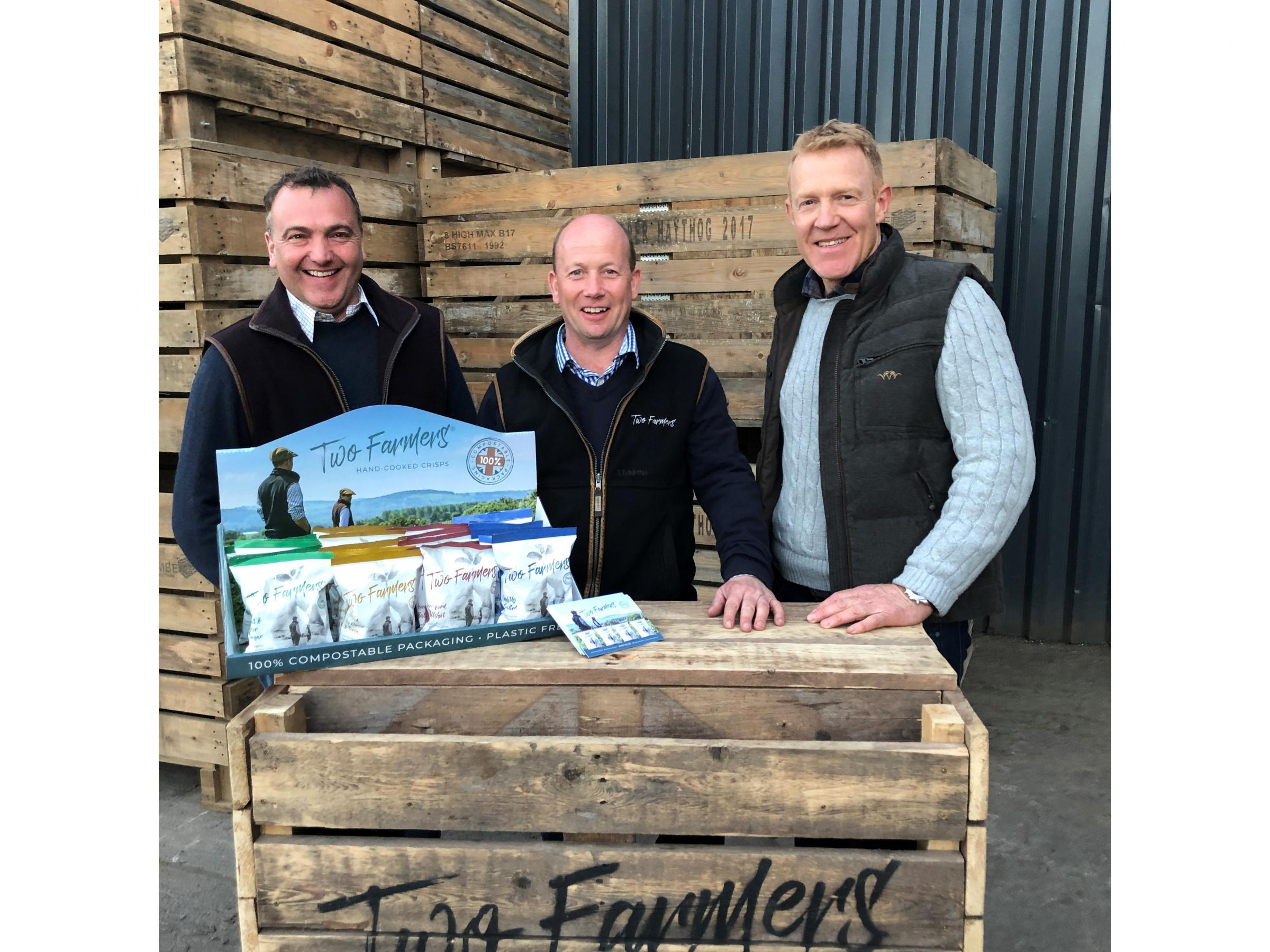 Sean Mason and Mark Green played host to the Countryfile team.