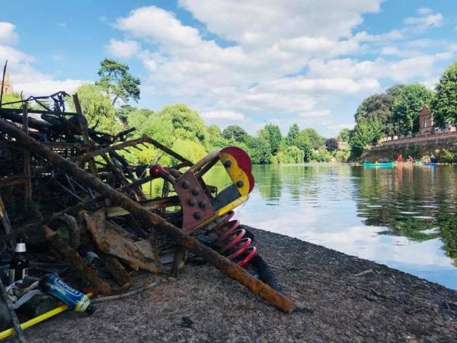 Wye Float are calling for volunteers to join the effort to tackle river rubbish this summer. Photo by Wye Float