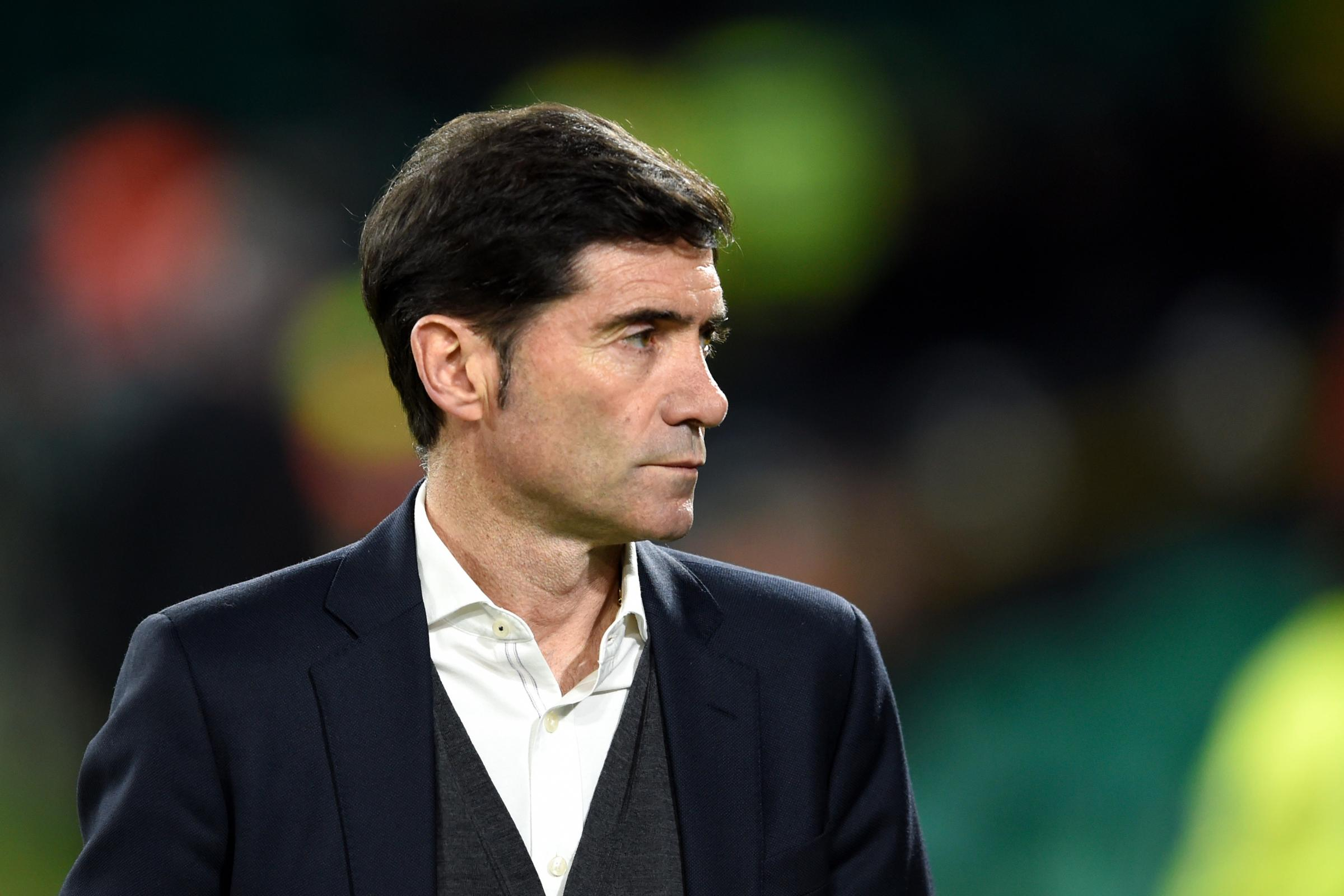 Valencia manager Marcelino is wary of their favourites tag