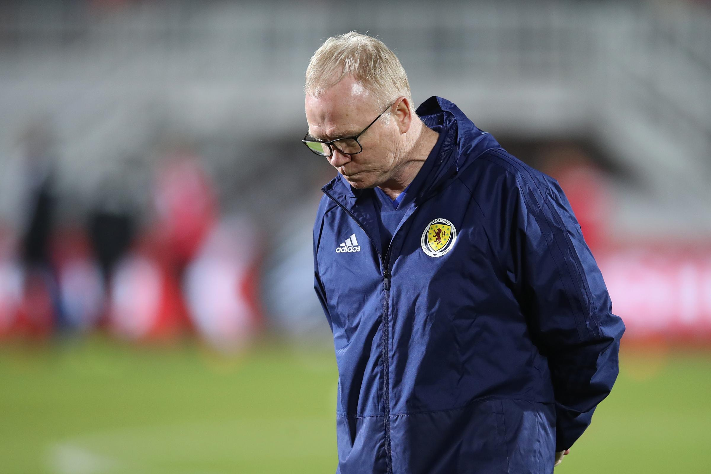 Alex McLeish is no longer the Scotland boss