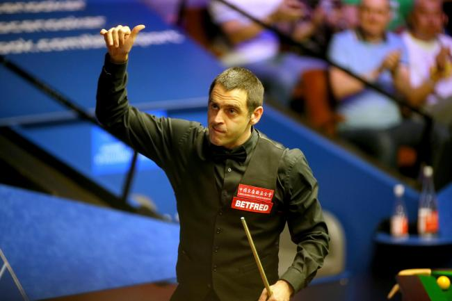 Ronnie O'Sullivan will face James Cahill