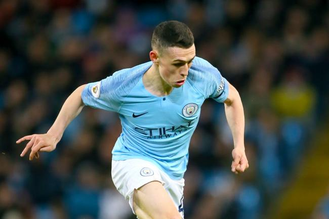 Phil Foden impressed for Manchester City against Tottenham