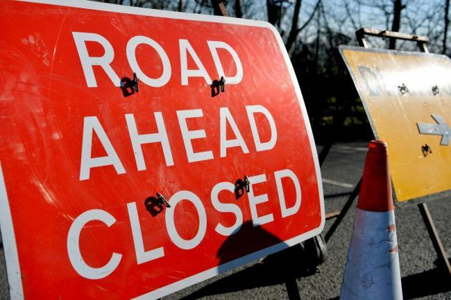 Mud has closed the A4110