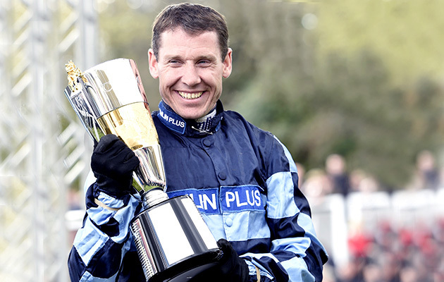 Richard Johnson, Champion jockey. 23-4-16.